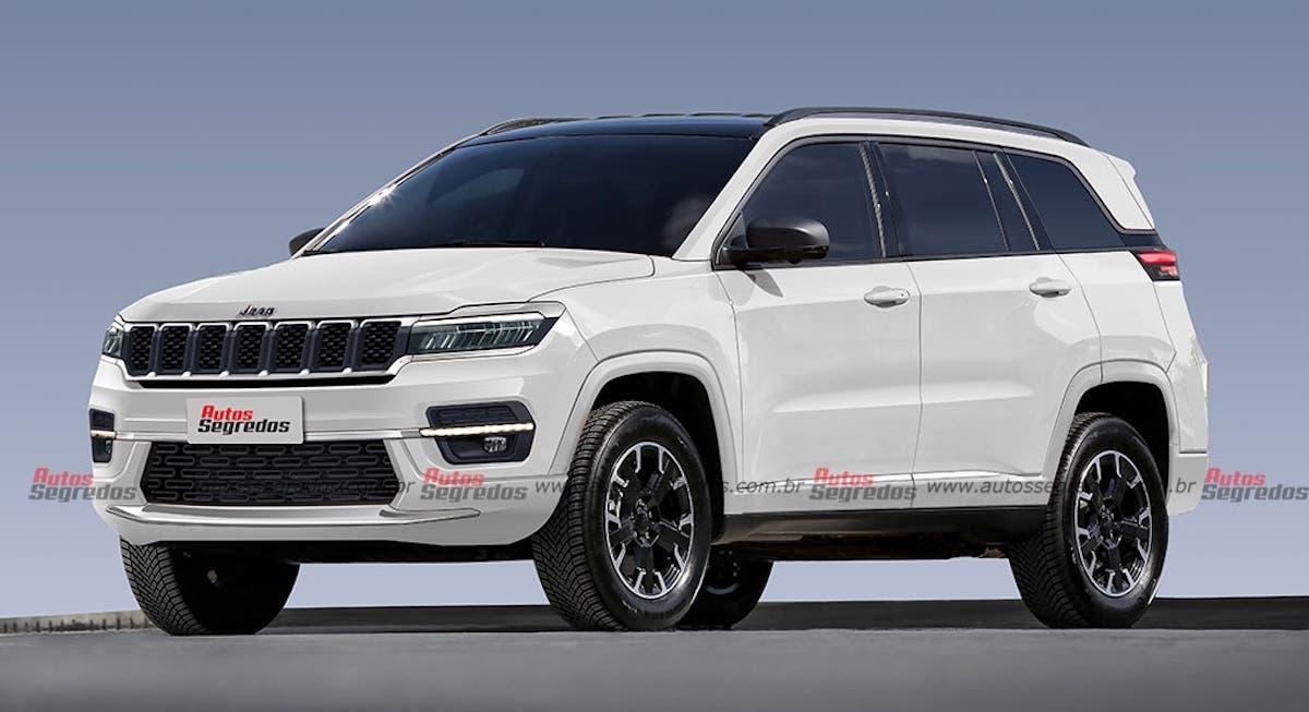 Nuovo Jeep Commander progetto digitale render