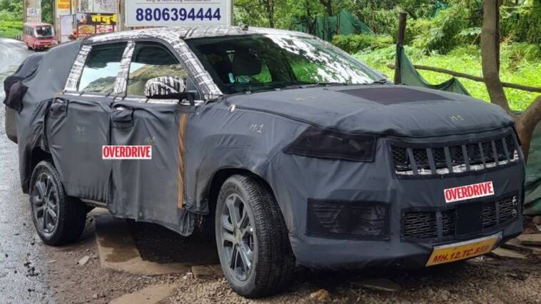 Nuovo Jeep Meridian ultime foto spia