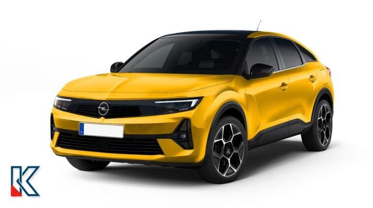 Opel Astra Cross render