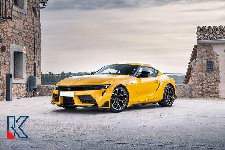Opel Manta OPC render
