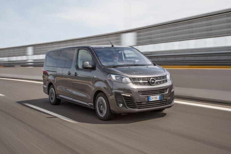 Opel Zafira Life versatile