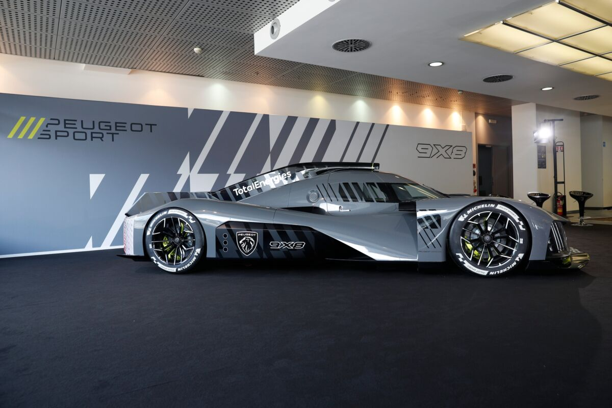 Peugeot 9X8 Autodromo di Monza