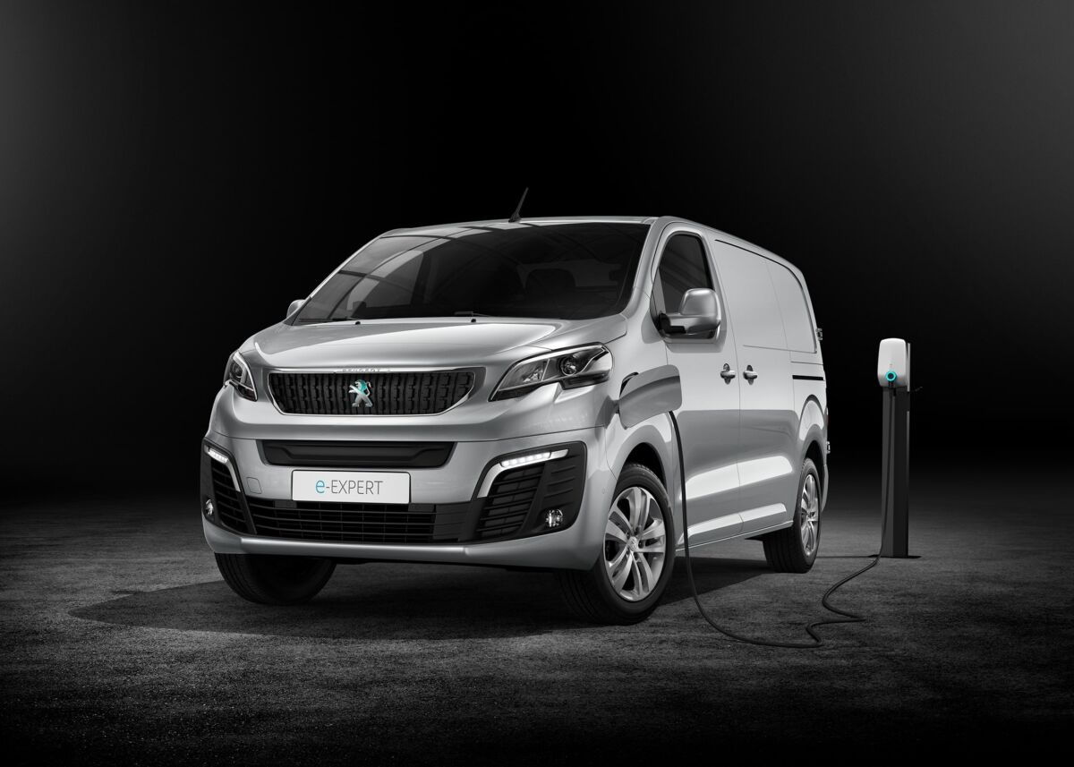 Peugeot Partner e-Expert premi