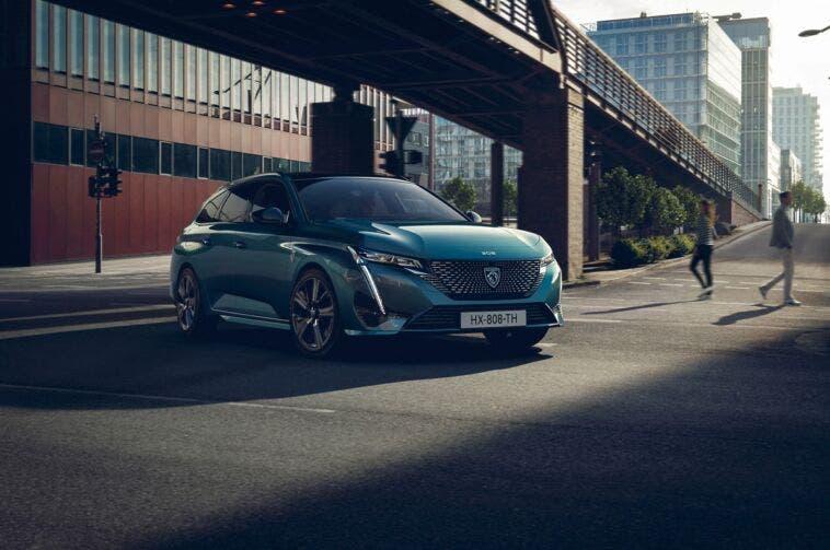 Peugeot gamma elettrificata