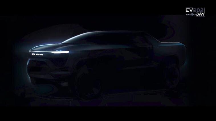 Ram 1500 BEV EV Day 2021