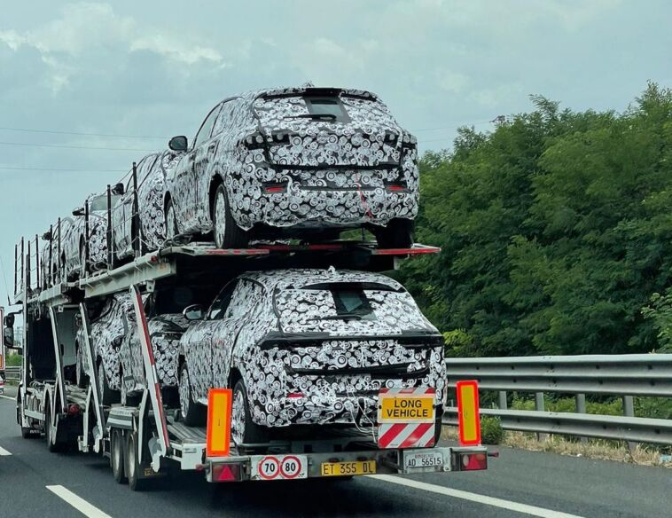 Alfa Romeo Tonale Spy