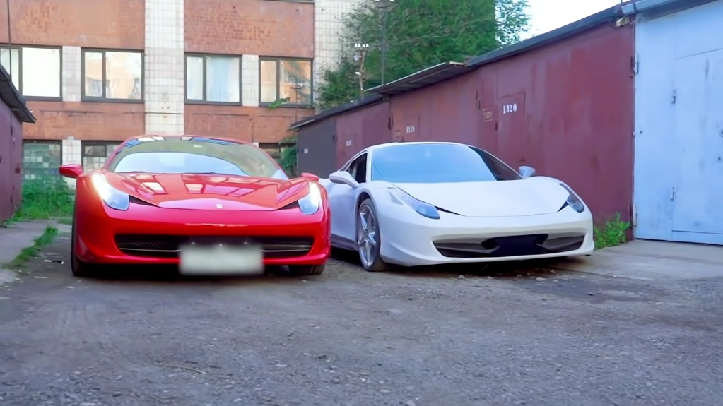 Ferrari 458 Italia replica vs originale