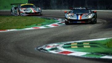Ferrari 488 GTE AF Corse Le Mans