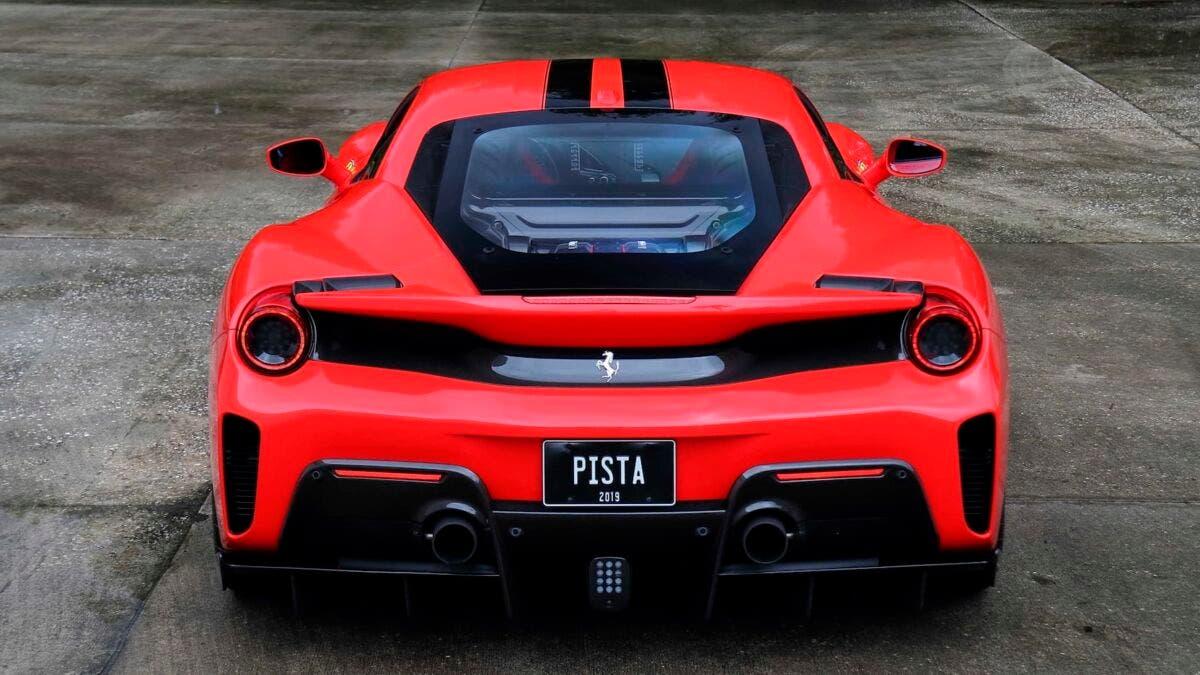 Ferrari 488 Pista 2020 asta Monterey