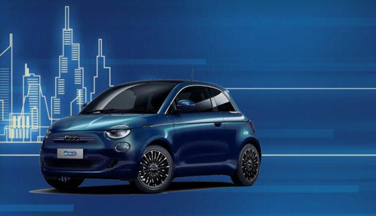 Fiat 500 Elettrica Action Leasys Miles Plus
