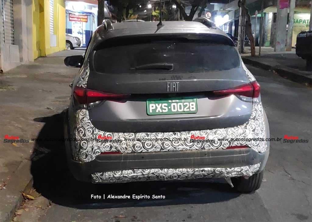 Fiat Pulse foto spia ultimo avvistamento