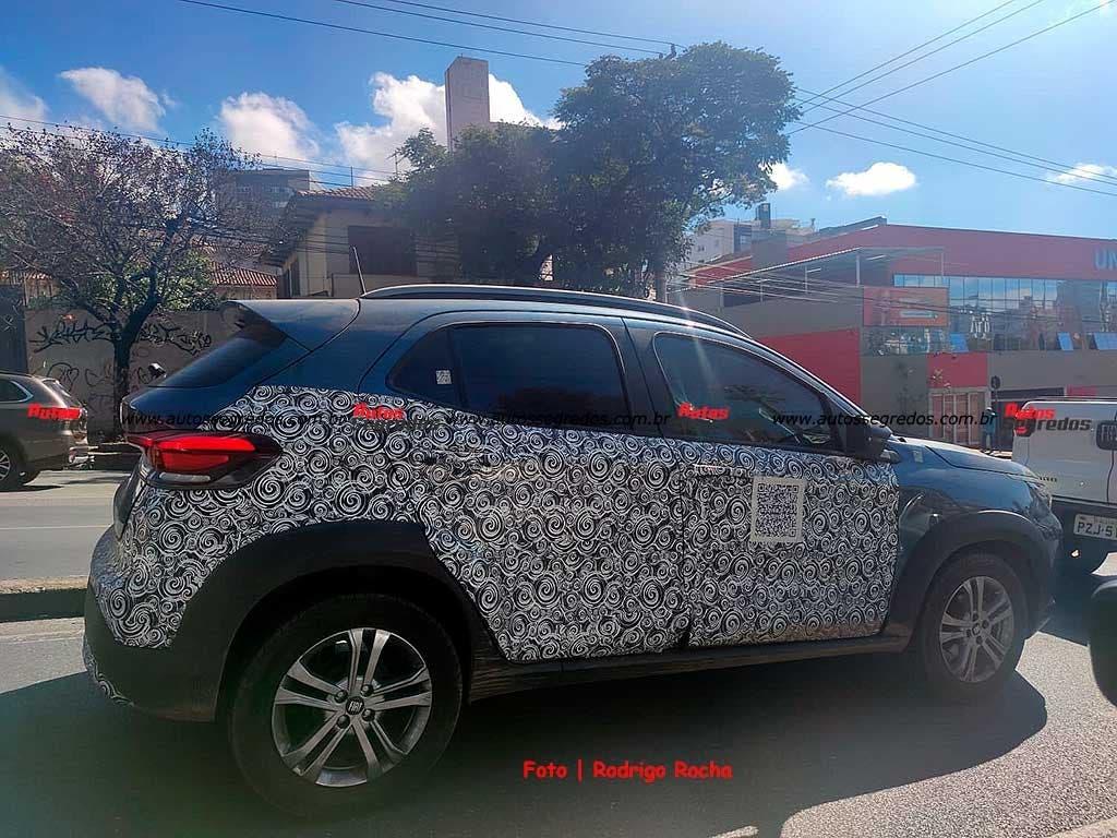 Fiat Pulse prototipo Minas Gerais