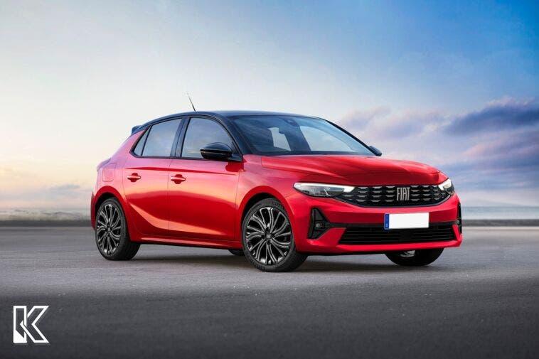 Fiat Punto 2024 render