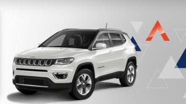 Jeep Compass Limited diesel noleggio