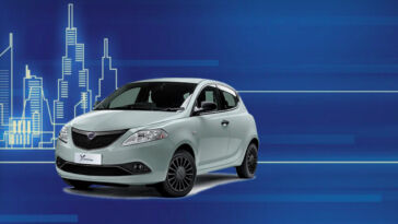 Lancia Ypsilon Hybrid Silver Be Free Plus