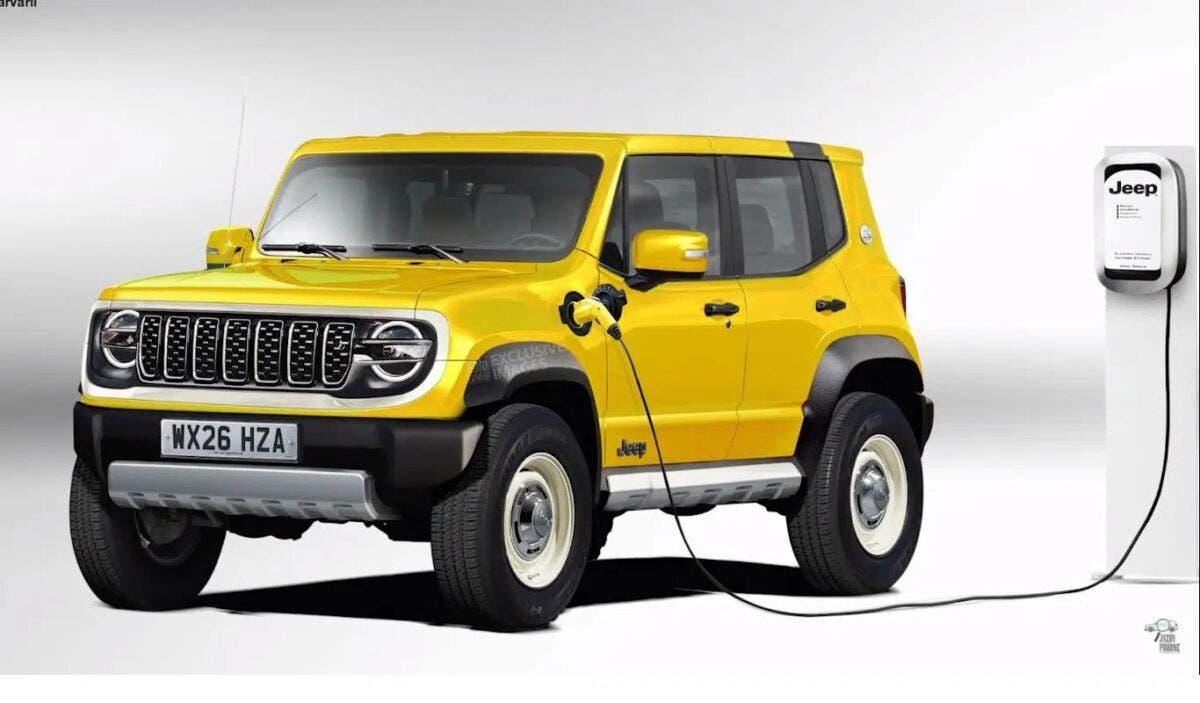 Nuova baby Jeep