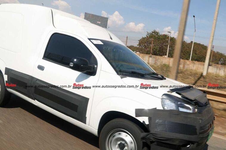 Nuovo Fiat Fiorino foto spia