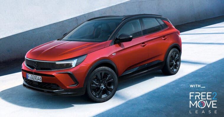 Nuovo Opel Grandland Hybrid noleggio