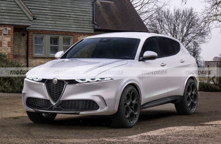 Alfa Romeo Tonale Render