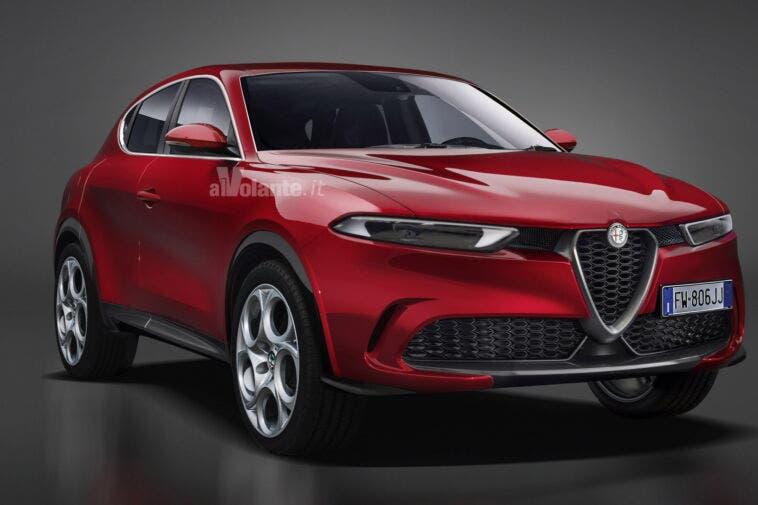 Alfa Romeo Tonale - Render, AlVolante.it