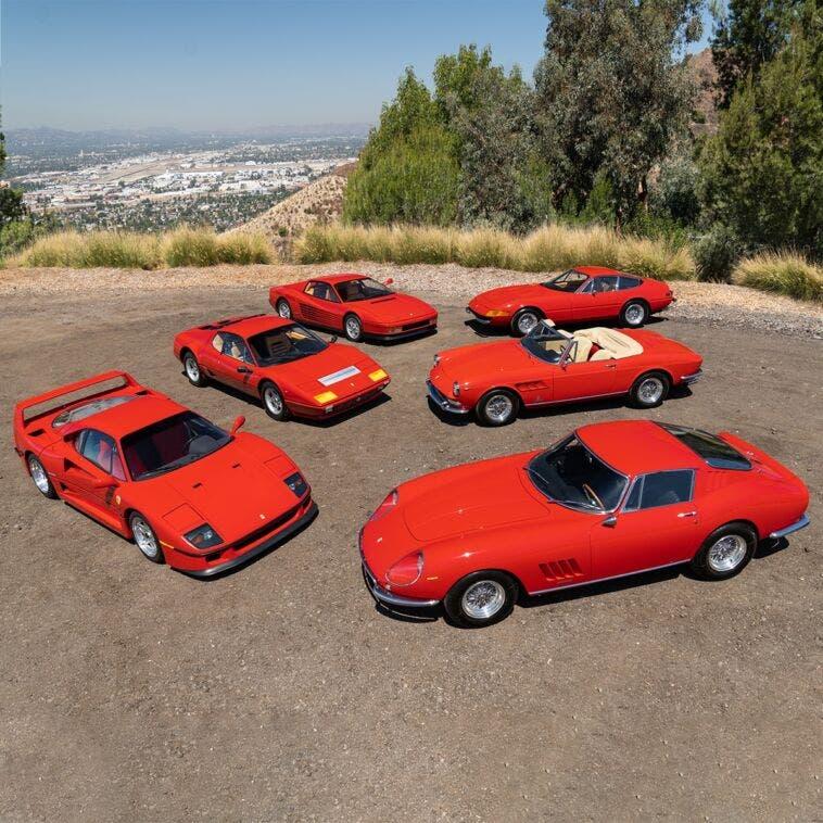 Ferrari all'asta con Gooding & Company