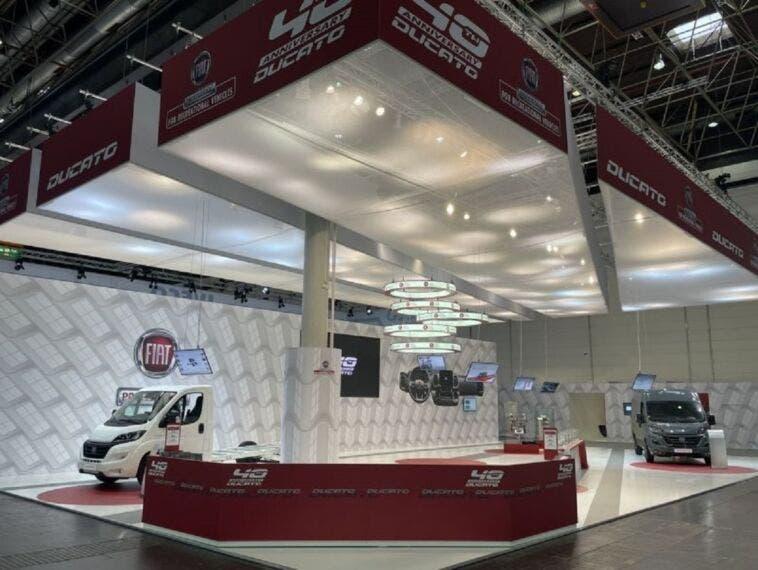 Fiat Professional Caravan Salon di Düsseldorf