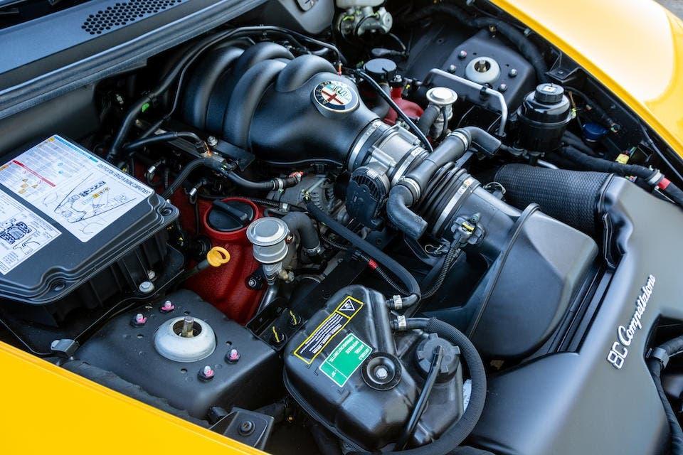 Alfa Romeo 8C Competizione Coupé 2008 Pearl Yellow asta