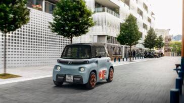 Citroën Ami primo anno mercato