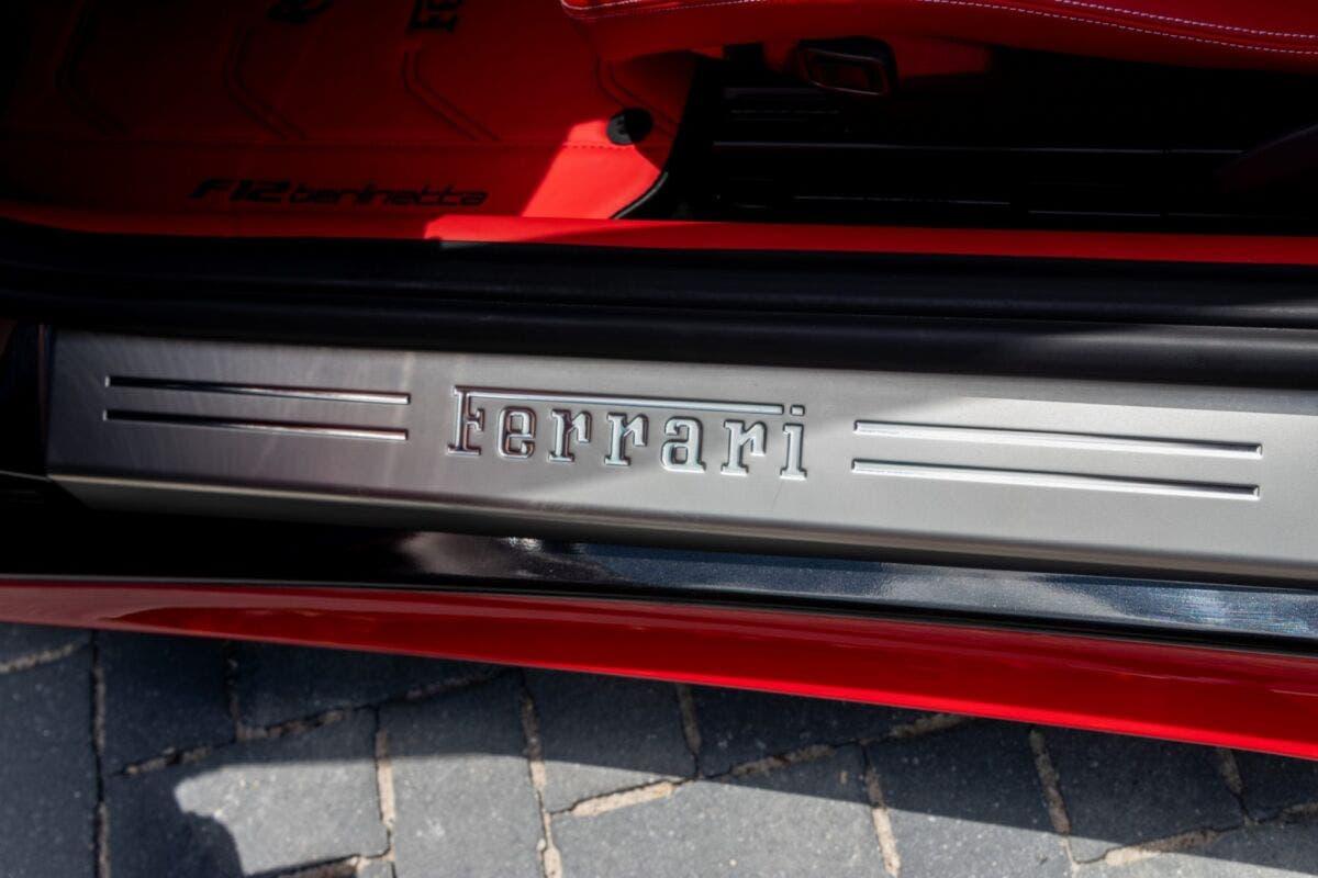 Ferrari F12berlinetta one-off asta online