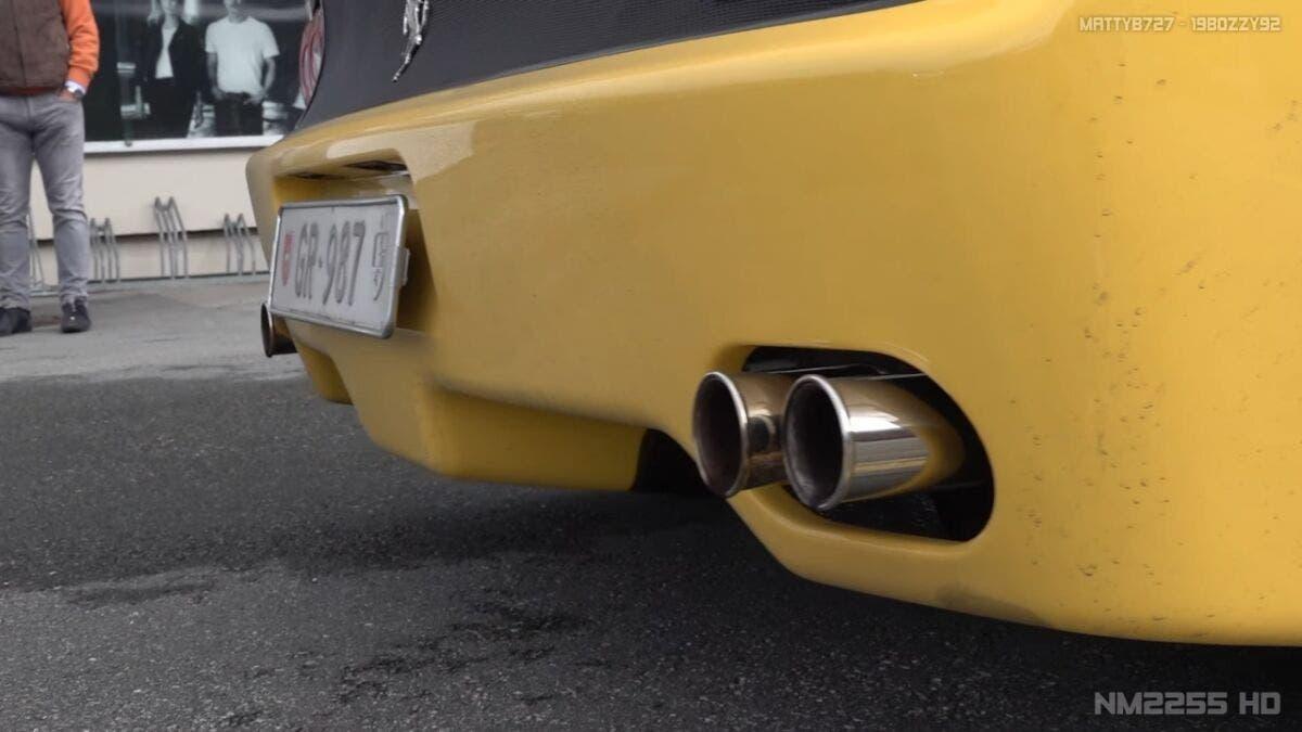 Ferrari F50 Giallo Modena sound