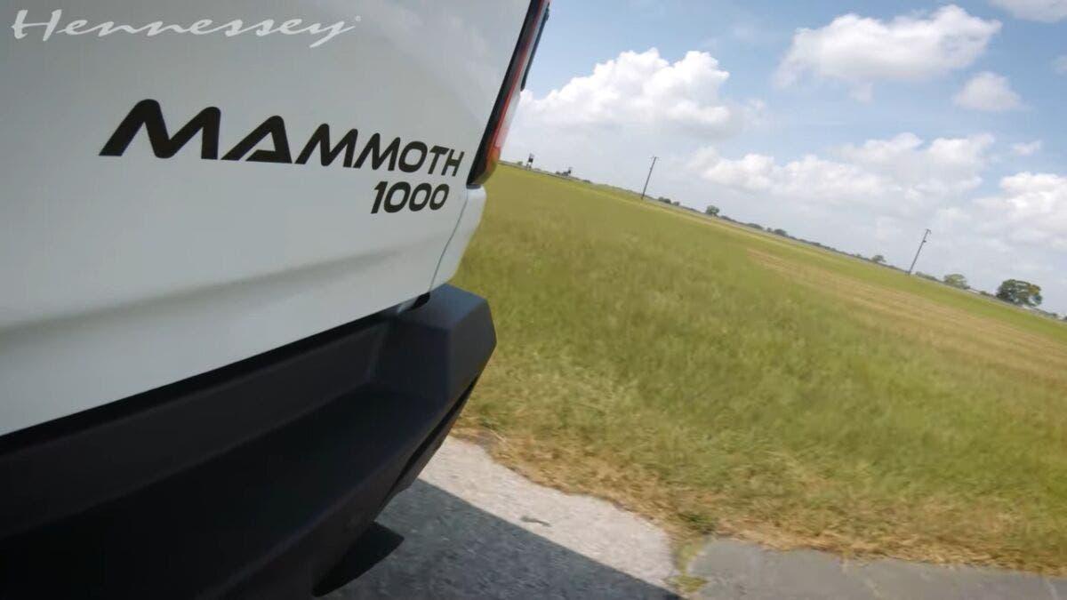Hennessey Mammoth 1000 Ram 1500 TRX