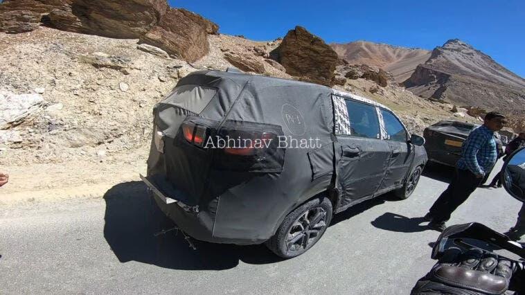 Jeep Meridian ultimo prototipo foto spia