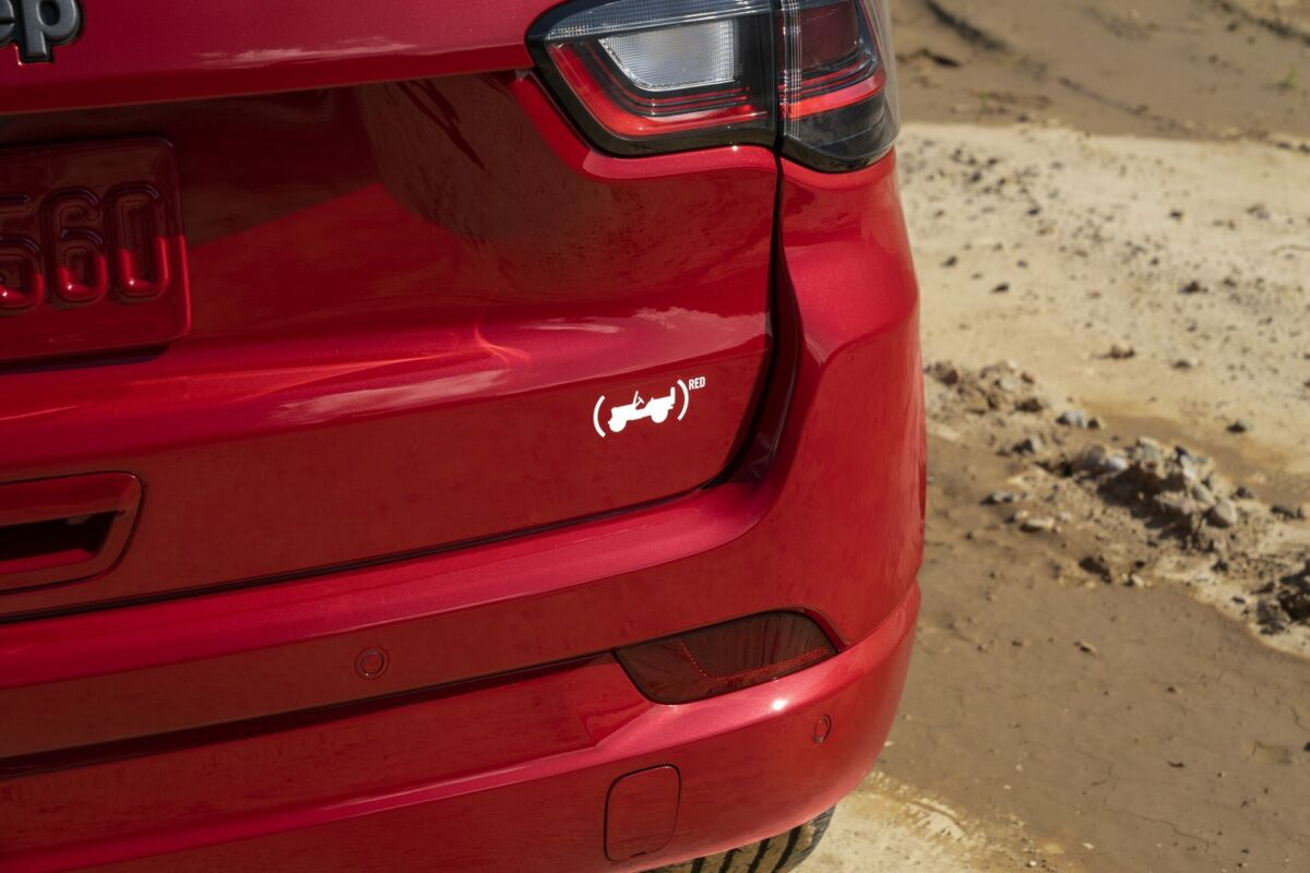Jeep Compass (RED)