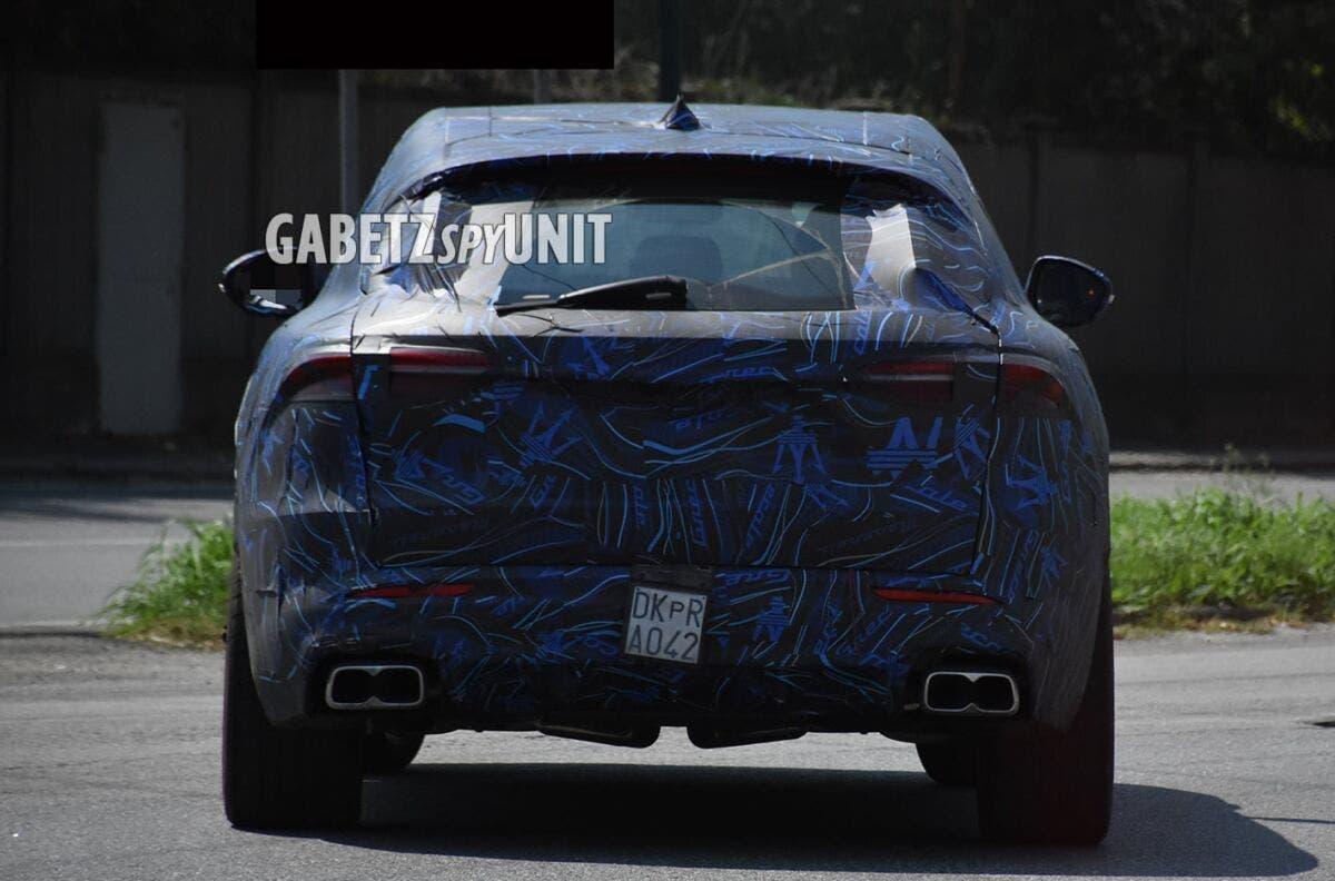 Maserati Grecale Trofeo nuove foto spia