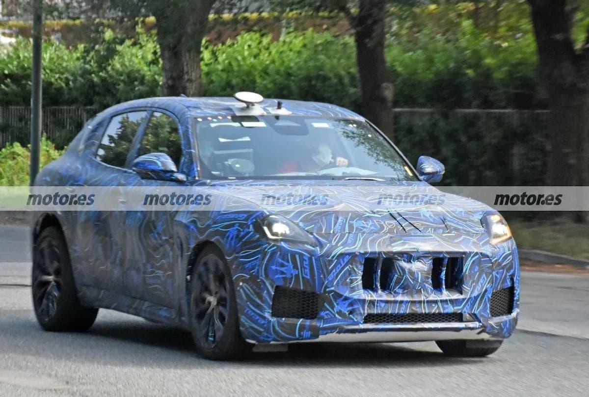 Maserati Grecale Trofeo prime foto spia