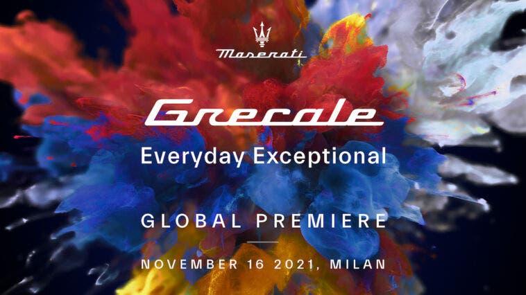 Maserati Grecale teaser presentazione
