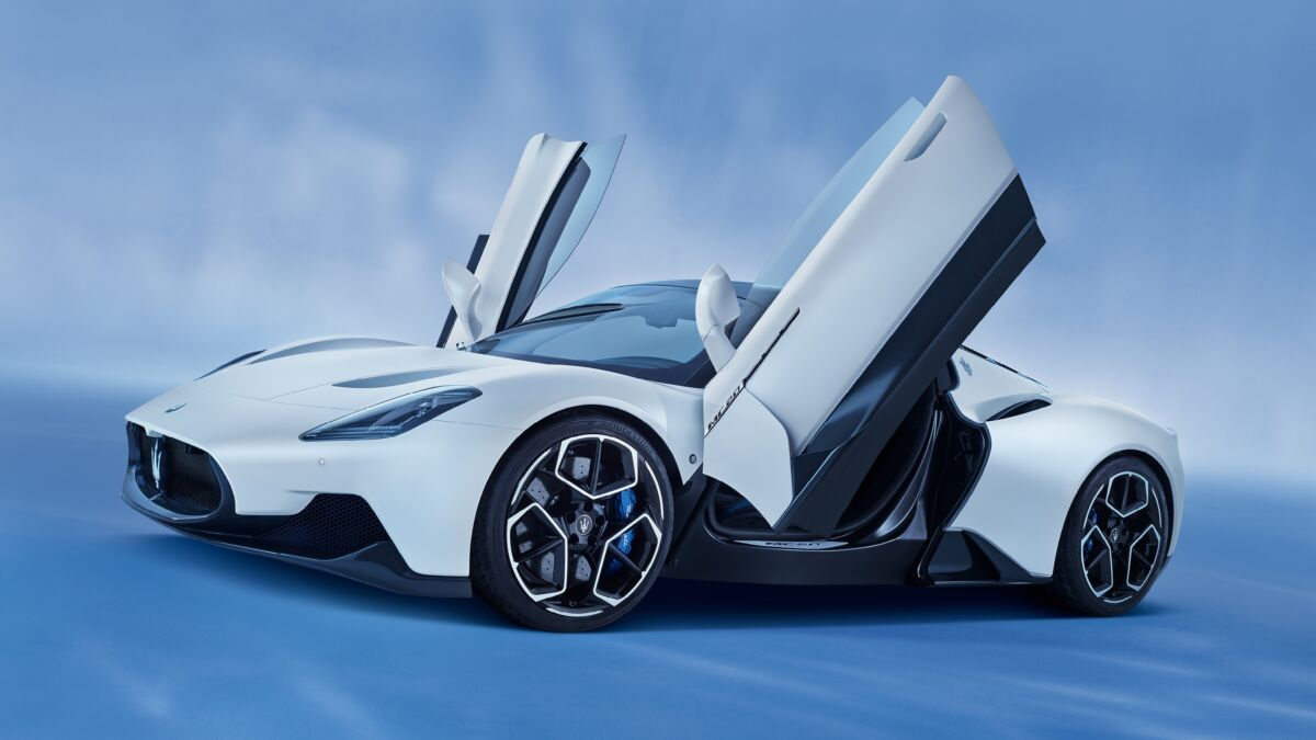 Maserati MC20 Product Design of the Year