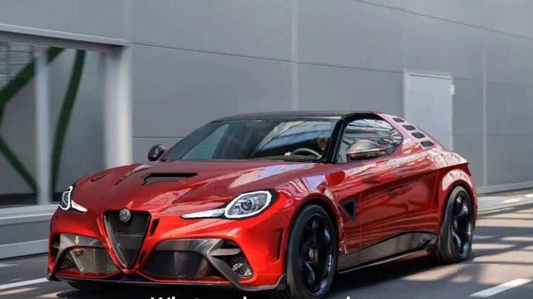 Nuova Alfa Romeo Montreal