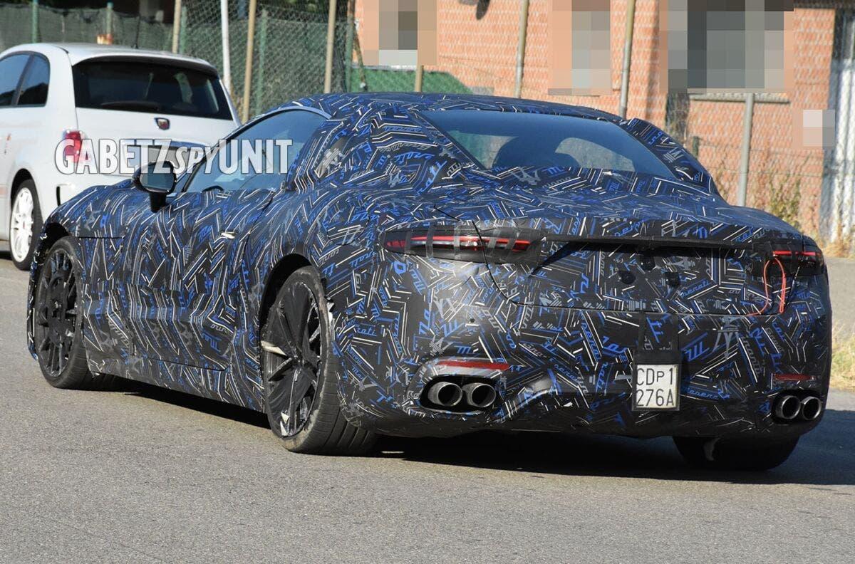 Nuova Maserati GranTurismo prototipo Modena