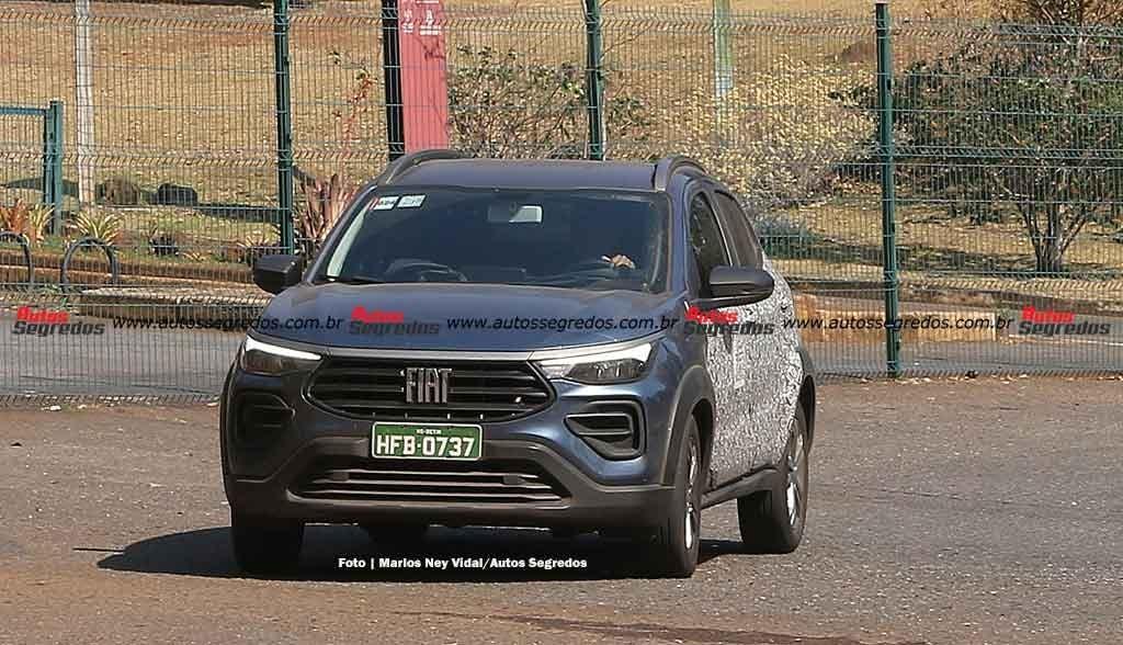 Nuovo Fiat Pulse ultimo prototipo foto spia