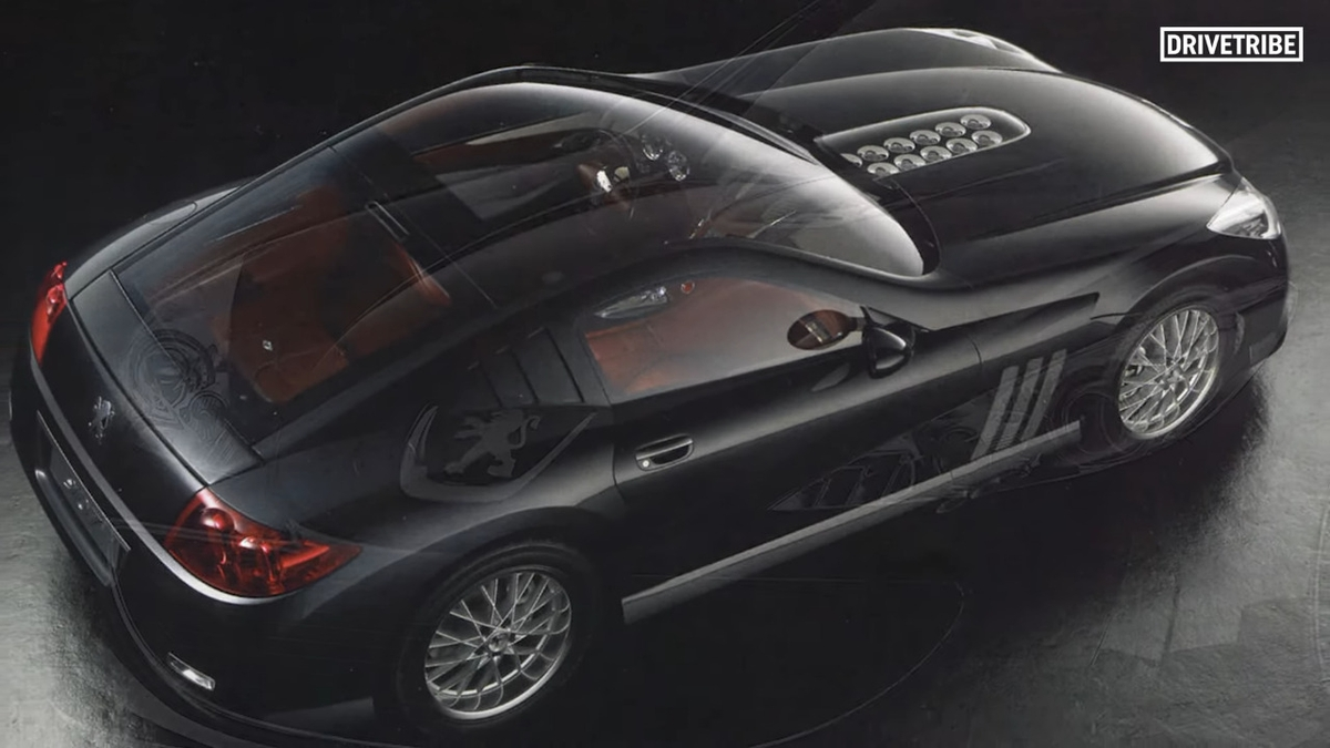 Peugeot 907 concept car
