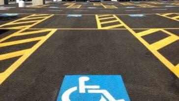 strisce disabili
