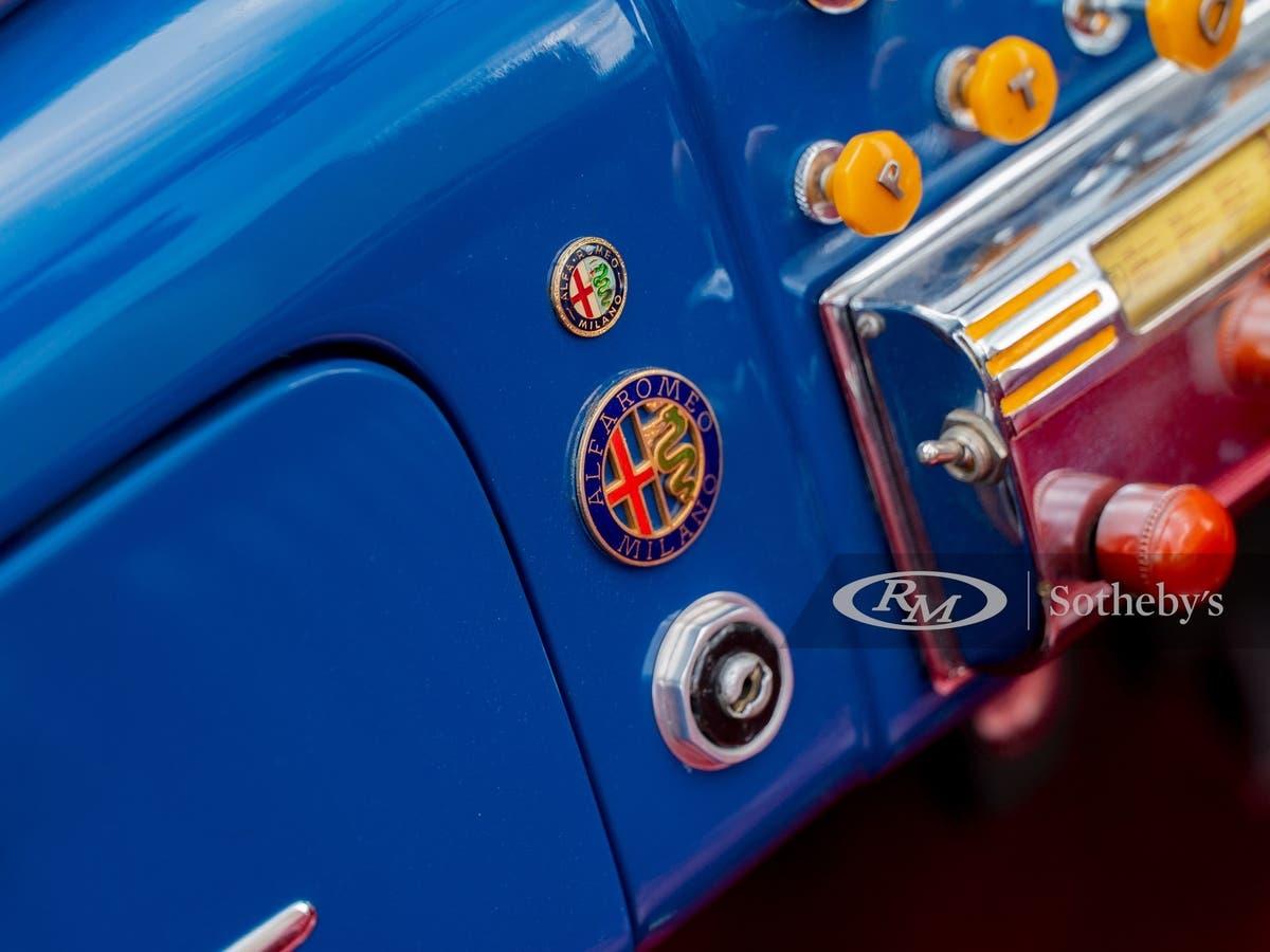 Alfa Romeo 6C 2500 Sport Cabriolet 1948 asta