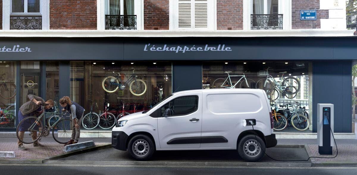 Citroën e-Berlingo Van ordinabile Italia