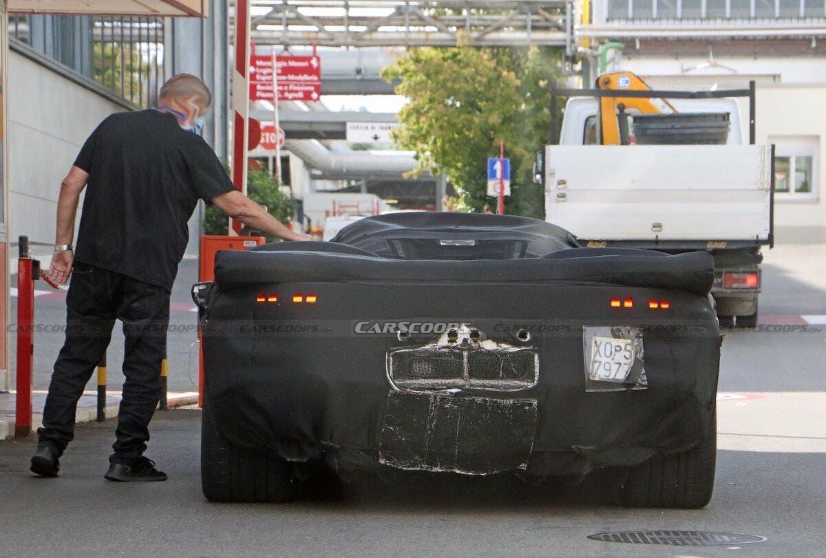 Ferrari Icona hypercar retrò nuove foto spia