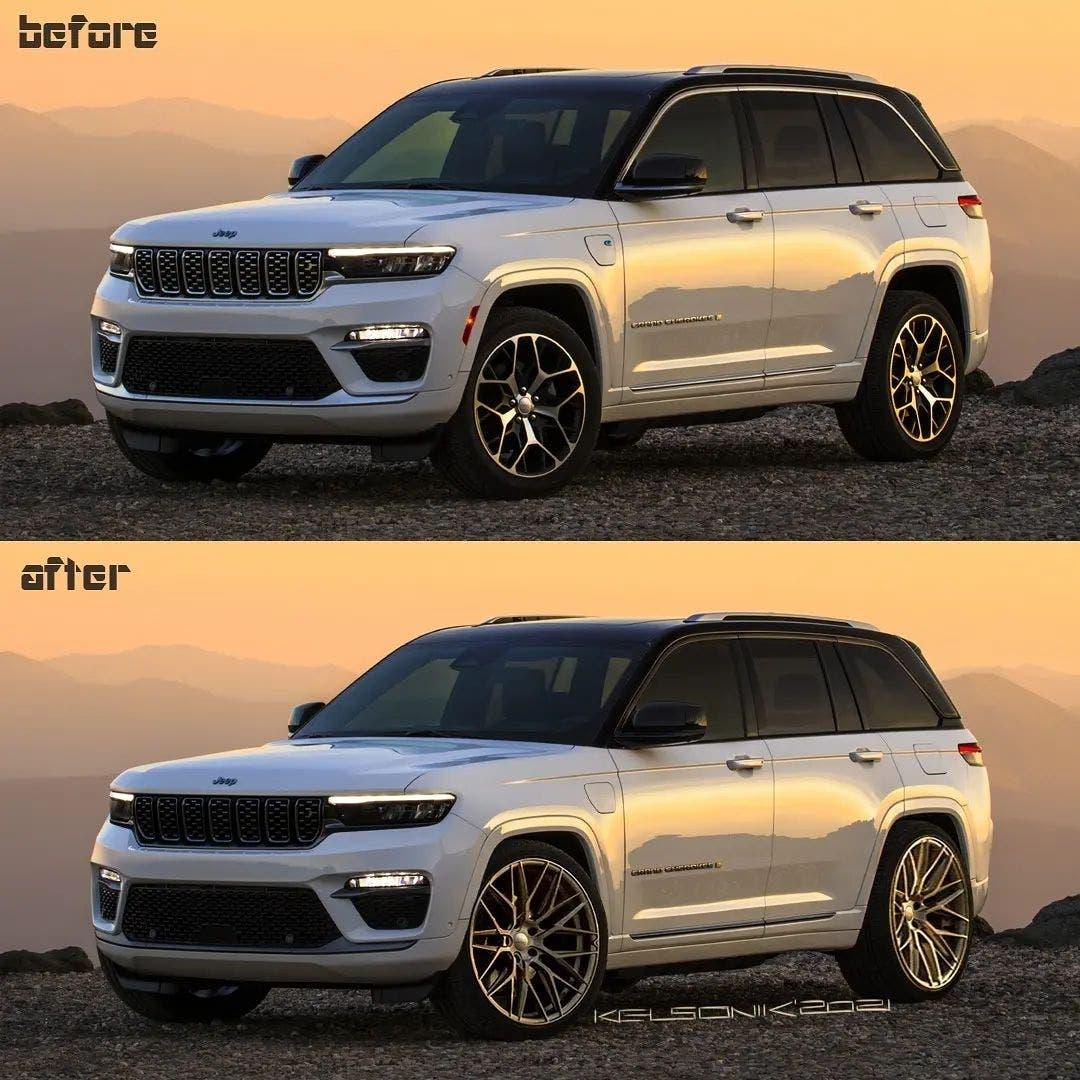 Jeep Grand Cherokee 2022 render