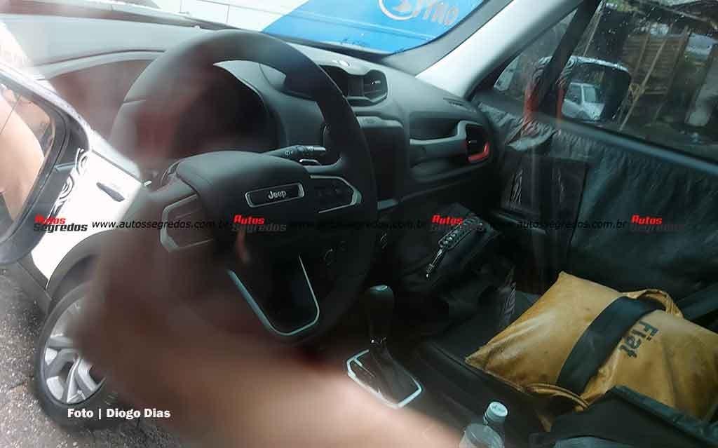 Jeep Renegade 2023 nuovo prototipo foto spia