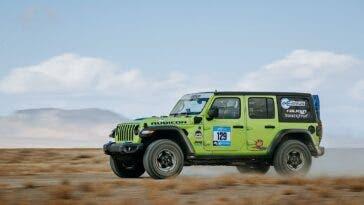 Jeep Wrangler 4xe Rebelle Rally 2021
