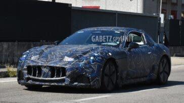 Maserati GranTurismo 2022 foto spia Modena