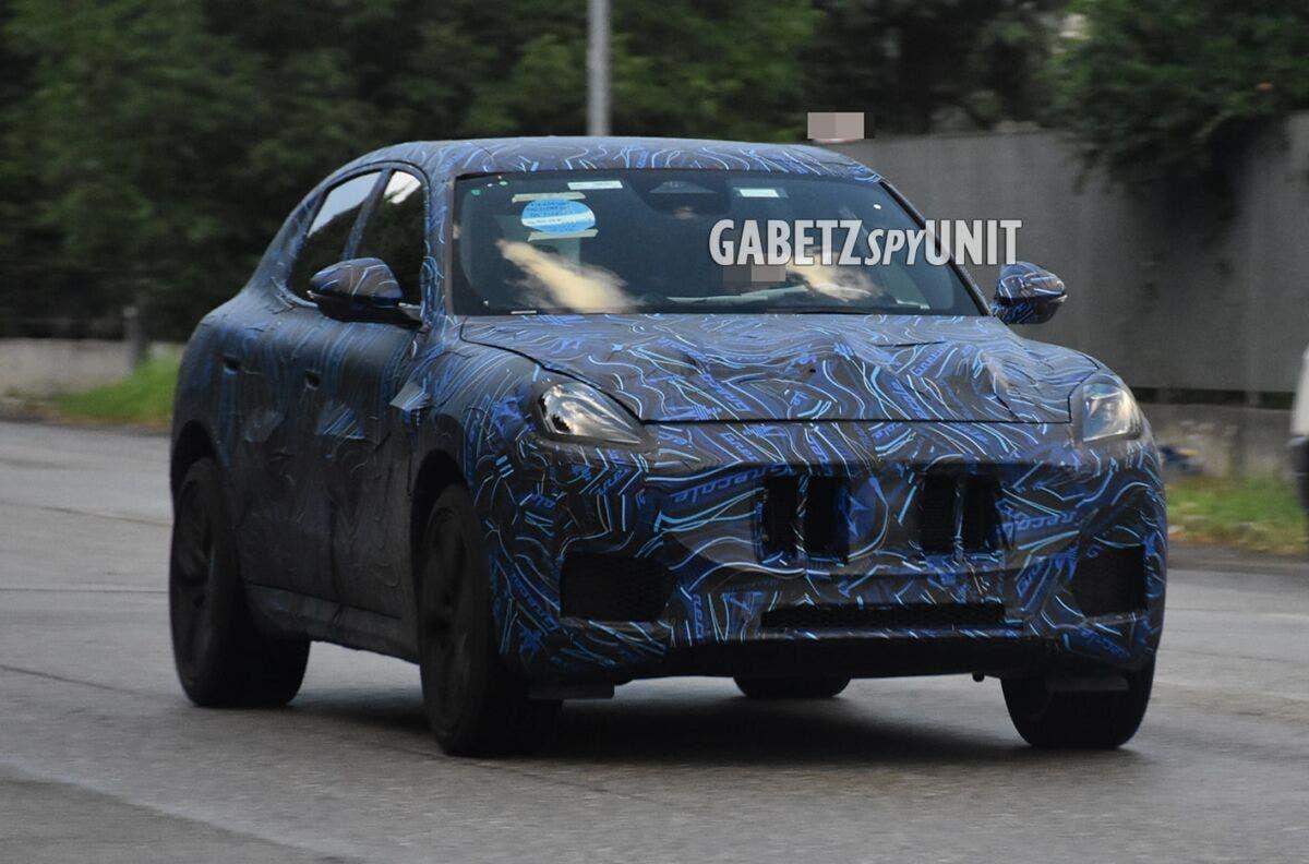 Maserati Grecale Trofeo ultime foto spia Italia